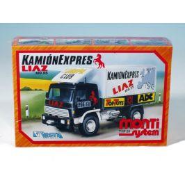 SEVA Stavebnice Monti System MS 28 Camion Expres Liaz 1:48 v krabici 22x15x6cm