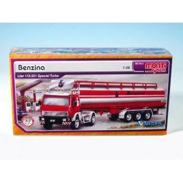 SEVA Stavebnice Monti System MS 08.3 Benzina Liaz 1:48 v krabici 31,5x16,5x7,5cm