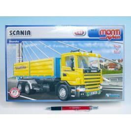 SEVA Stavebnice Monti System MS 67 Scania Skanska 1:48 v krabici 32x20,5x7,5cm