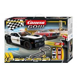"Conquest Autodráha Carrera GO 62510 ""On the Run"" 4,3m v krabici 58x40x8cm"