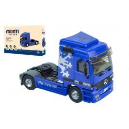 SEVA Stavebnice Monti System MS 53.1 Actros L (modrý) 1:48 v krabici 22x15x6cm