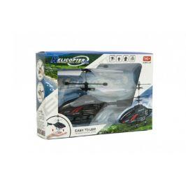 Teddies Vrtulník na ovládání rukou použití USB plast 16cm v krabici 22x15x5cm