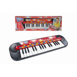 Simba Piáno, 32 kláves, 45 x 13 cm, na baterie