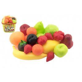 Teddies Nákupní košík ovoce/zelenina plast 18x16x19cm skladem