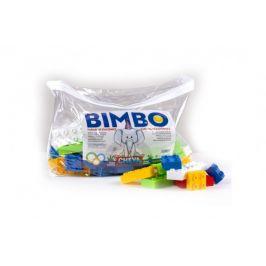 Chemoplast Stavebnice Cheva Bimbo 70 plast 70ks kostek v plastové tašce
