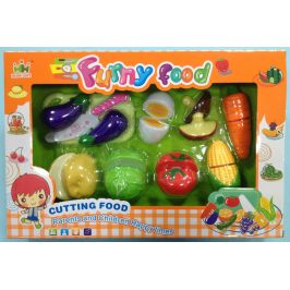 Set potravin na suchý zip zelenina, vajíčko skladem