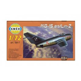 Směr Model MiG-15 bis/Lim-2 1:72 15x14cm v krabici 25x14,5x4,5cm