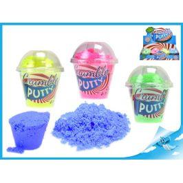 Mikro Trading Crumble putty 11cm 4barvy v kelímku 12ks v DBX Barva: Modrá