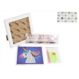 Mikro Trading Sada diamanty tvořící 18x18cm 5druhů v krabičce Typ: Kočka