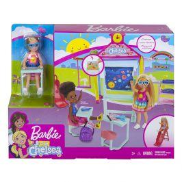 Mattel Barbie CHELSEA ŠKOLIČKA HERNÍ SET