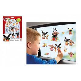 Lowlands Okenní dekorace Bing Bunny 50ks samolepek na kartě 16x21cm