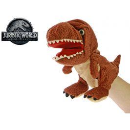 Mikro Trading Jurský svět Tyrannosaurus Rex 25cm plyšový maňásek 0m+ skladem