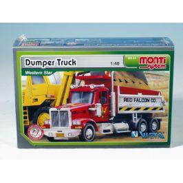 SEVA Stavebnice Monti System MS 44 Dumper Truck Western star 1:48 v krabici 22x15x6cm