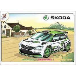 OMALOVÁNKY A5 ŠKODA AUTO Typ: WRC