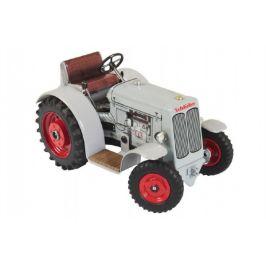 Traktor Schlüter DS 25 šedivý na klíček kov 1:25 v krabičce 17x11x10cm Kovap