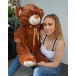 Baby Nellys Plyšový medvěd 120cm - čokoládový