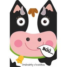 Omalovánka A4 zvířátka - Kráva