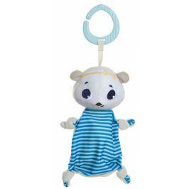Tiny Love Mazlíček, muchláček s klipem, 20cm - Lední medvěd