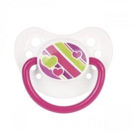 Canpol babies dudlík silikonový anatomický PICNIC NEW 6-18m - růžová