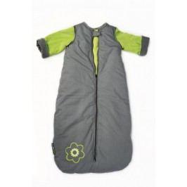 Babyvak Spací pytel velký s odepínacími rukávy - šedá/zelená