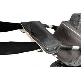 Emitex Rukávník ke kočárku - černá/béžová