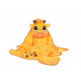 Okiedog dětská cestovní deka s polštářem - Giraffe