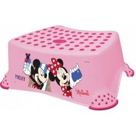 Keeeper Stupínek k umyvadlu a WC Mickey & Minnie - Minnie růžová