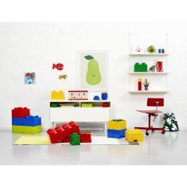 LEGO Úložný box 12x12x18 cm modrá
