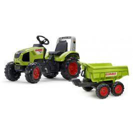 Falk Traktor šlapací Claas Axos 330 s Maxivalníkem