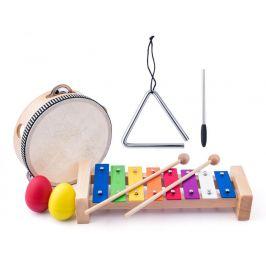 Woody Muzikální set - tamburína/bubínek