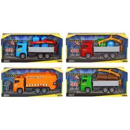 Dickie Auto Truck Heavy City 22 cm, oranžová