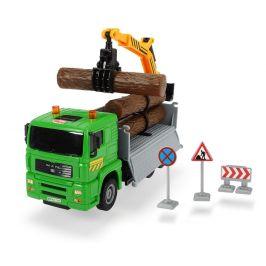 Dickie Auto Truck Heavy City 22 cm, zelená