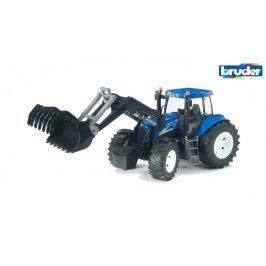 Bruder Farmer - New Holland T8040 traktor s předním nakladačem 1:16