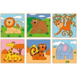 Woody Kubus 3x3 - exotická zvířata