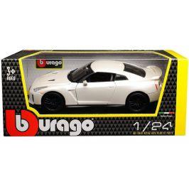 BBurago 2018 Nissan GT-R 1:24 bílý