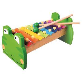 Bino Xylofon kovový Žabka