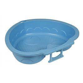 PalPlay Pískoviště-bazének srdce modrá