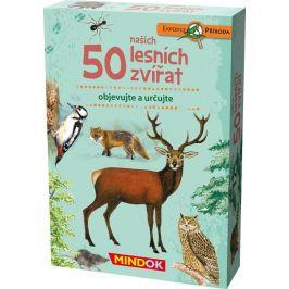 Mindok 50 našich lesních zvířat