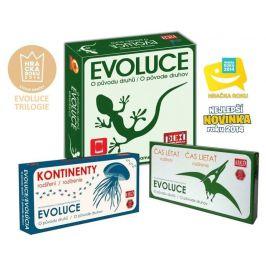 PEXI Evoluce Trilogie: O původu druhů + Čas létat + Kontinenty