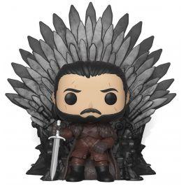 Funko POP Deluxe GOT S10 Jon Snow Sitting on Iron Throne