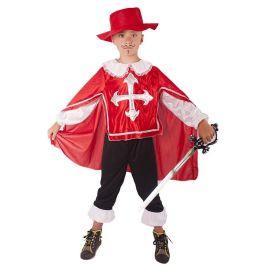 Rappa Kostým mušketýr červený vel. M