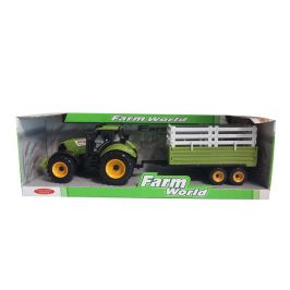 Mac Toys Traktor s valníkem zeleno/bílý
