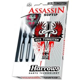 Harrows Šipky Assassin 85 soft 18 g R