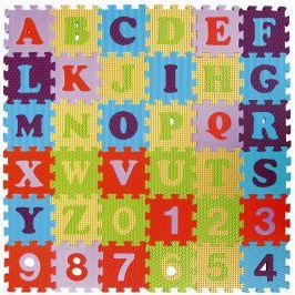 Teddies Pěnové puzzle abeceda a čísla 36ks