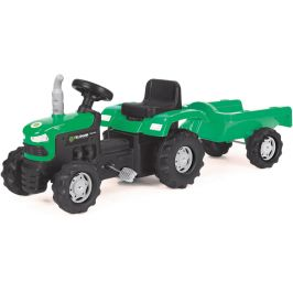 Buddy Toys Šlapací traktor s vozíkem BPT 1013