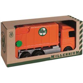 Androni Popelářský vůz Millennium oranžový
