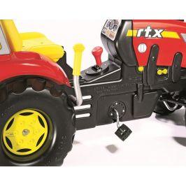 Rolly Toys Šlapací traktor X-Trac s řadící pákou - červený