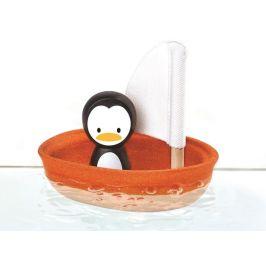 Plan Toys Plachetnice s tučňákem