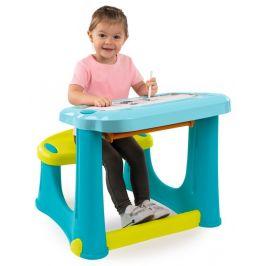 Smoby Magický psací stůl s lavicí modrý