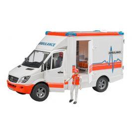 Bruder Ambulance Sprinter s řidičem